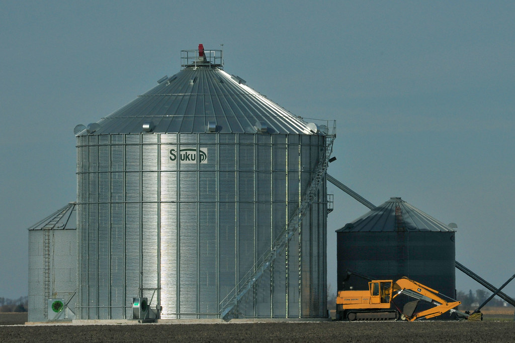 Grain Storage on the Prairie