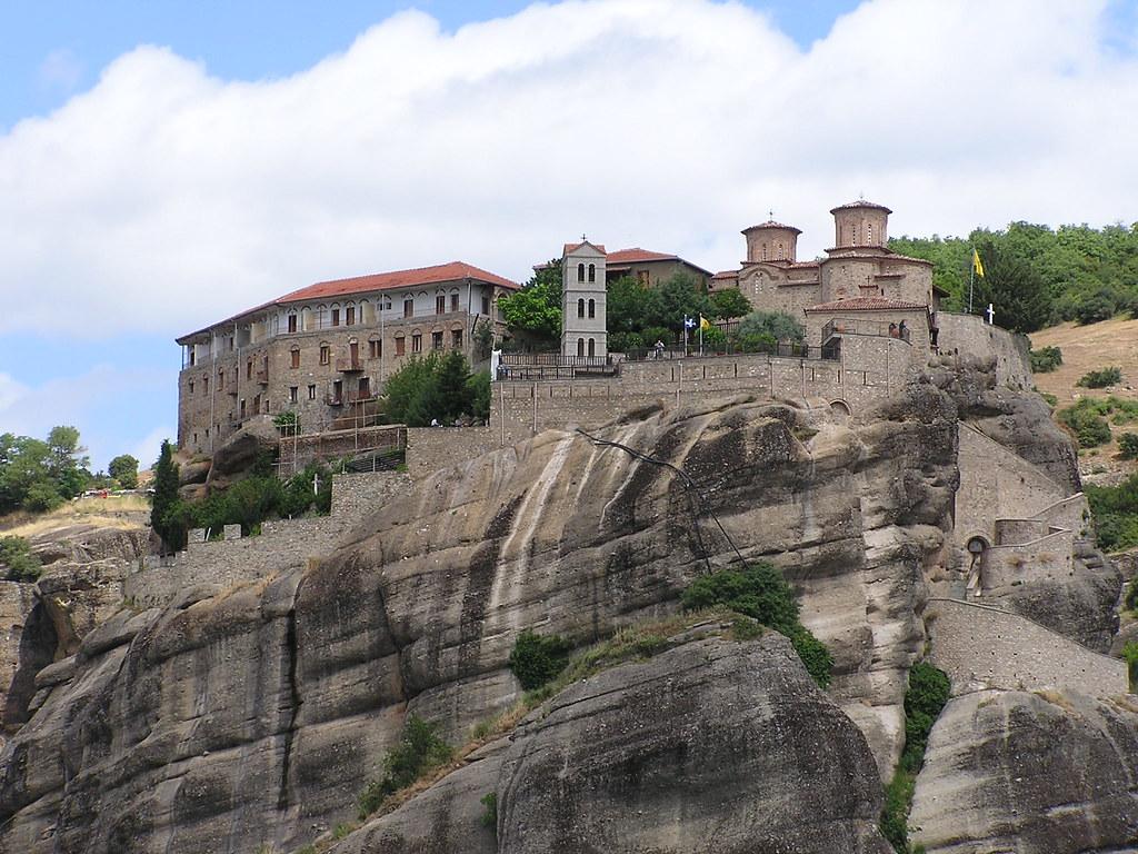 Grecia Meteora Monasterio Gran Meteoro o de la Metamorfosis o de la Transfiguración de Cristo 58