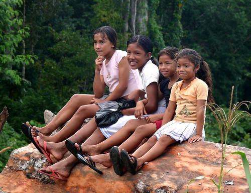 Amerindians in Guyana