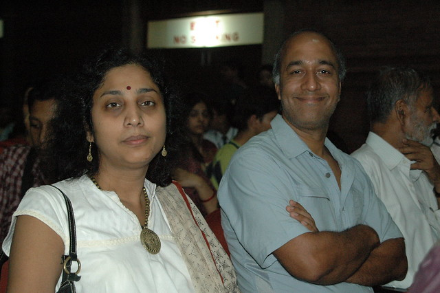 Vivek and Radha from the Hong Kong and the US Chapters