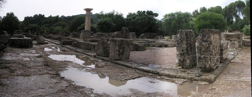 Templo de Zeus Olimpia Grecia 25