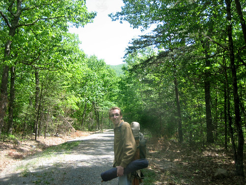 20100509 - camping, day 2 - IMG_0500 - John - hiking back down