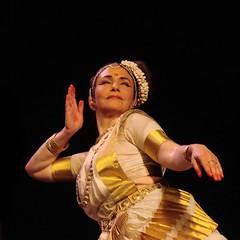 Mohini Attam, danse du Kerala (Brigitte Chataignier)