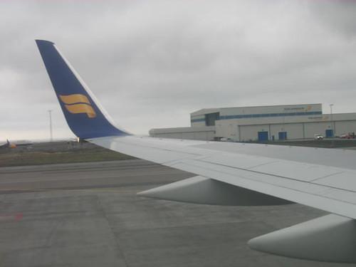 Departing Keflavik