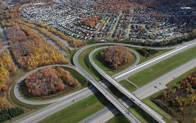 Trois-Rivières : Échangeur 55/40 Ouest