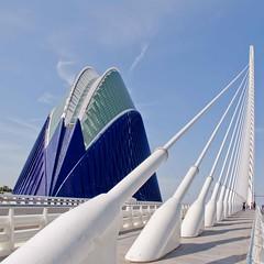 Agora and El Puente de l'Assut de l'Or bridge