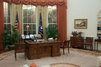 Reagan's Oval Office replica   Flickr - Photo Sharing!