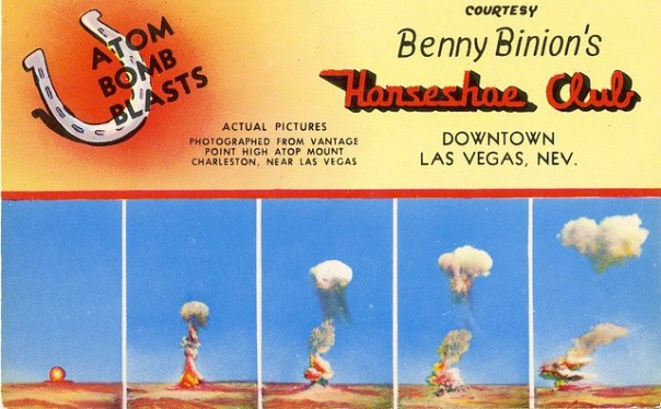 Benny Binion's Horseshoe Club - Las Vegas, Nevada U.S.A. - date unknown