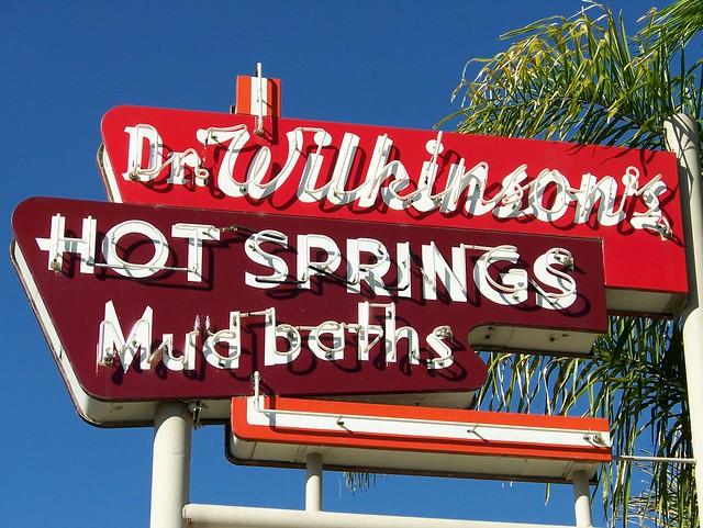 Dr. Wilkinson's Hot Springs Mud Baths