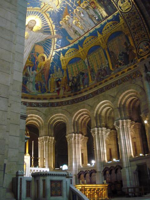 Inside Sacre Coeur Flickr Photo Sharing