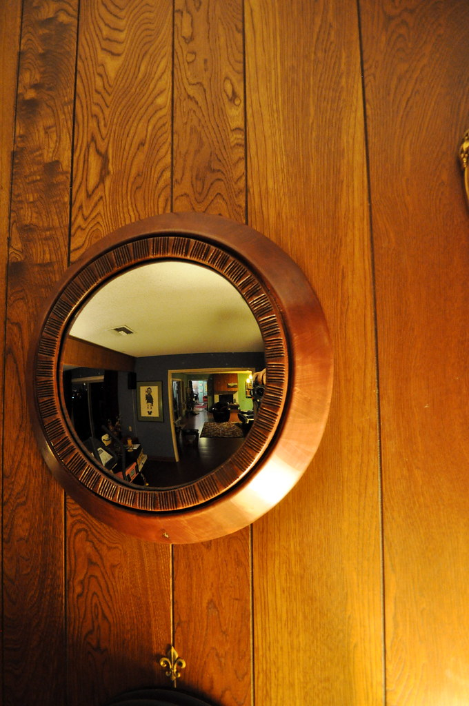 Finished Convex Mirror for Kelly's Birthday