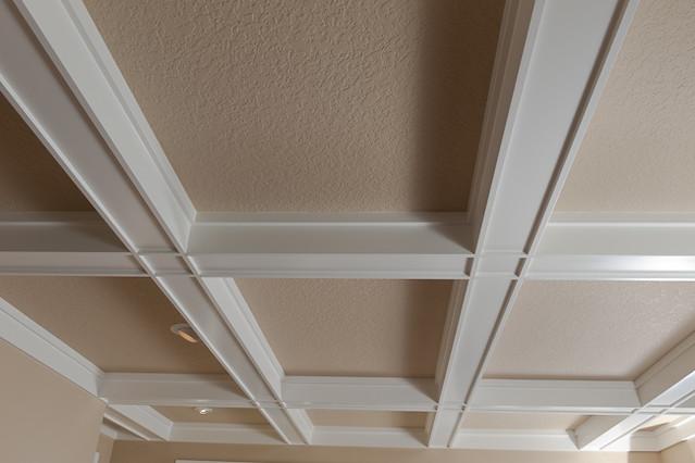 Box beam ceiling details