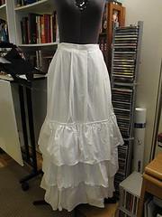 Flounced Petticoat