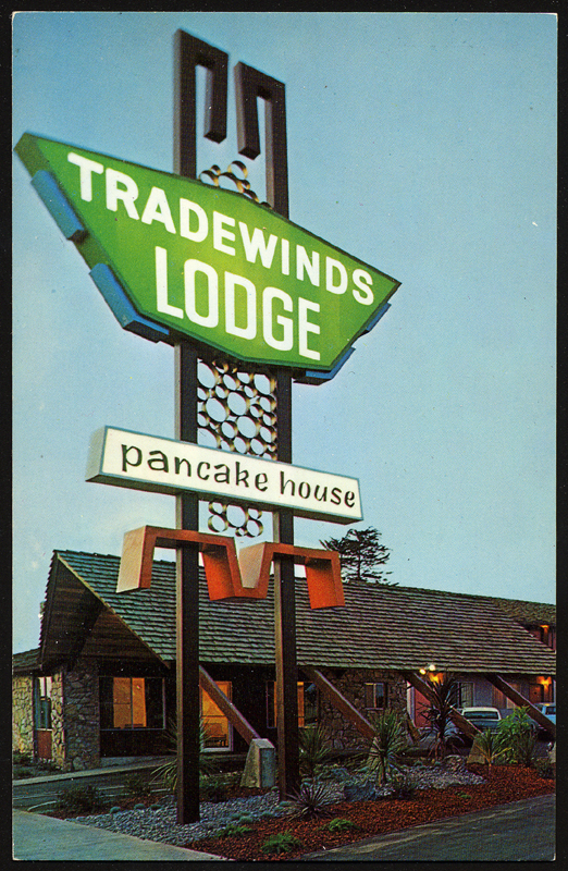 Tradewinds Lodge - Fort Bragg, California U.S.A. - 1960s