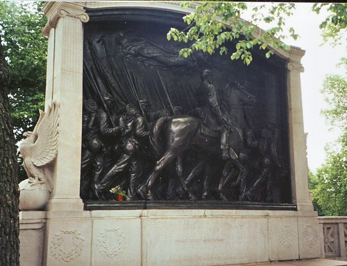 54th Massachusetts Monument