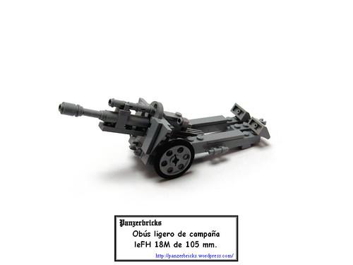 leFH 18M de Panzerbricks