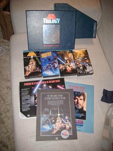 Star Wars Trilogy: VHS Letterbox Box Set