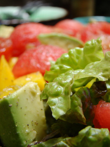 Watermelon Mango Salad
