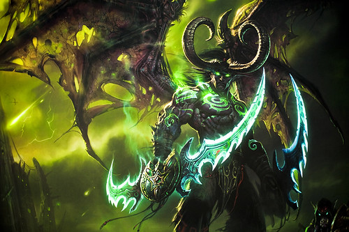 Blizzcon – Official World of Warcraft Art // Illidan Stormrage