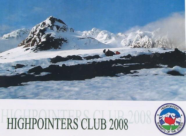 2008 Highpointers Calendar