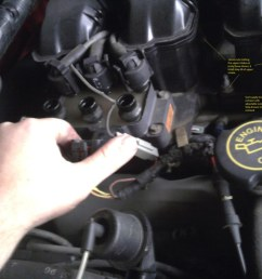 how to replace valve cover gaskets fuel rail gaskets and 2000 mercury mountaineer vacuum diagram mercury [ 1024 x 768 Pixel ]
