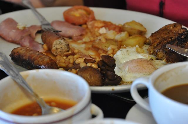 Breakfast at last