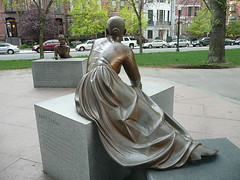 Lucy Stone contemplates Phillis Wheatley