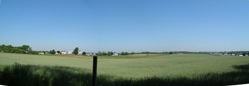 Farmland near Boiling Springs, Pennsylvania