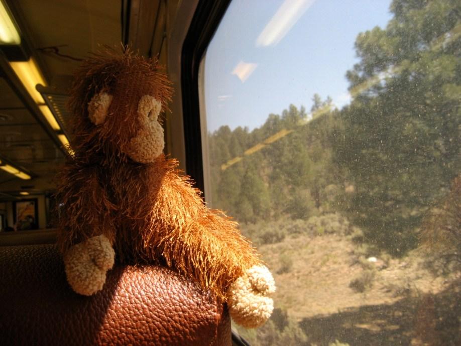 Zig Zag on Grand Canyon Railway