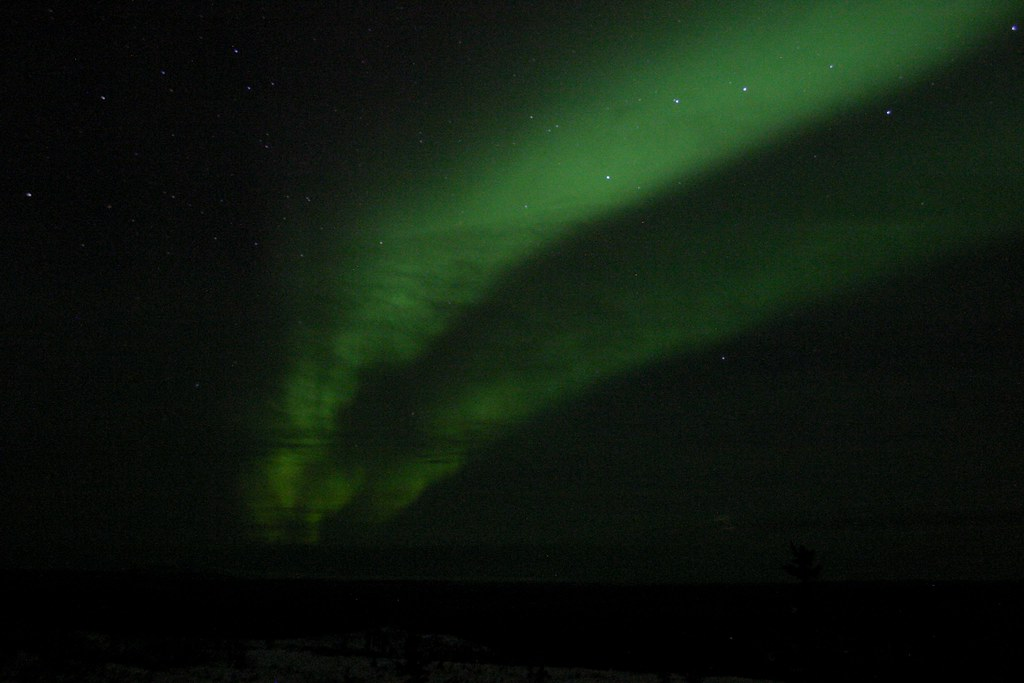Aurora with Clouds