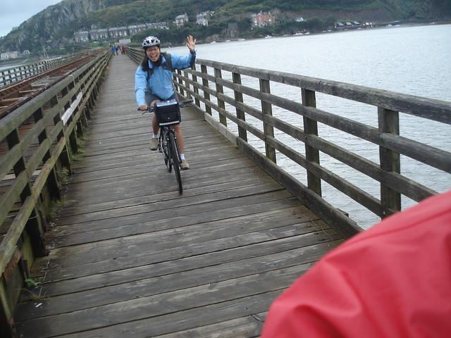 Bike bridge near Barmouth