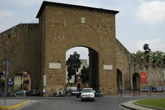 Porta Romana, Florence by George V. Reilly