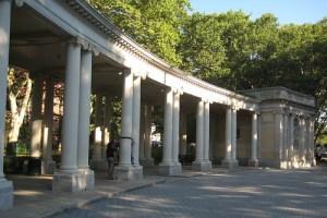 NYC - Brooklyn - Greenpoint: McGolrick Park - McGolrick Park Shelter Pavilion