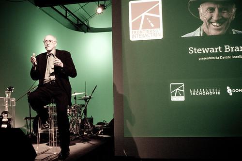 Frontiers Concert w/ Stewart Brand & Bruce Sterling