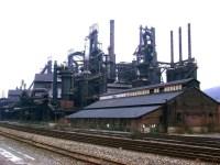 Bethlehem Steel Blast Furnace Row