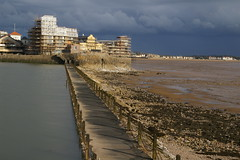 Knightstone redevelopment across the causeway