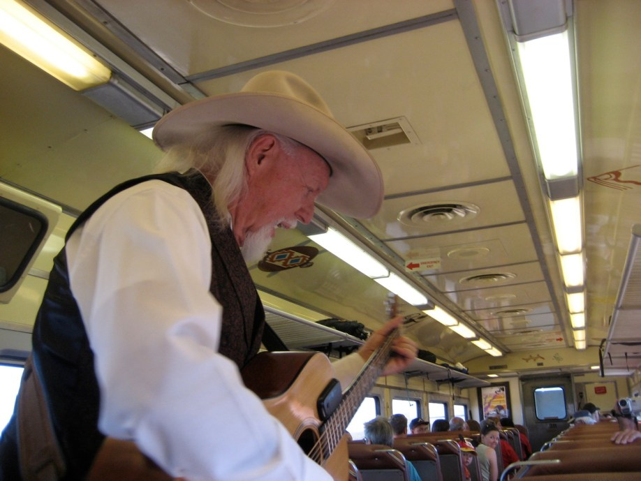 Grand Canyon Railroad Train Entertainment