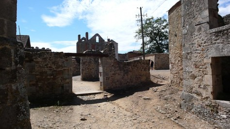 France, Oradour sur Glane
