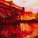 Painting Castlefield | Mixed Media Painting