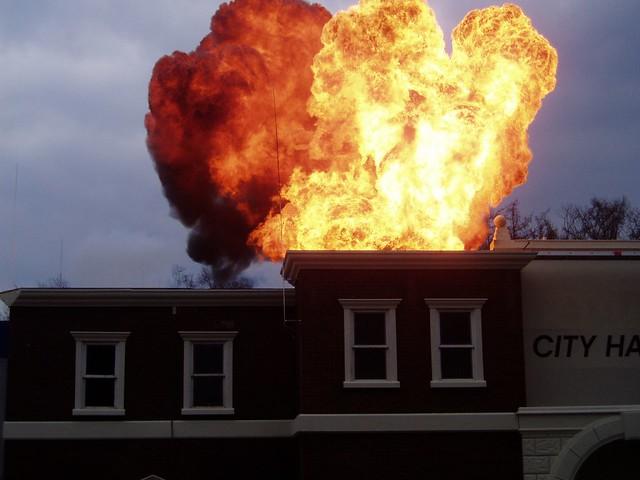 Explosion (Movie Park Germany)