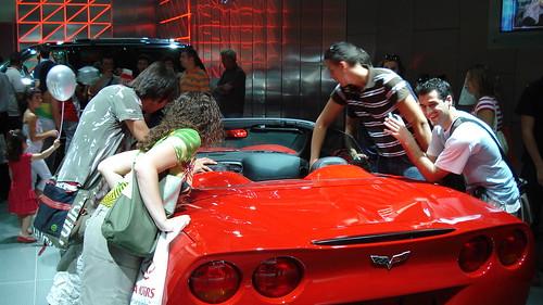 Fun at a Car Show