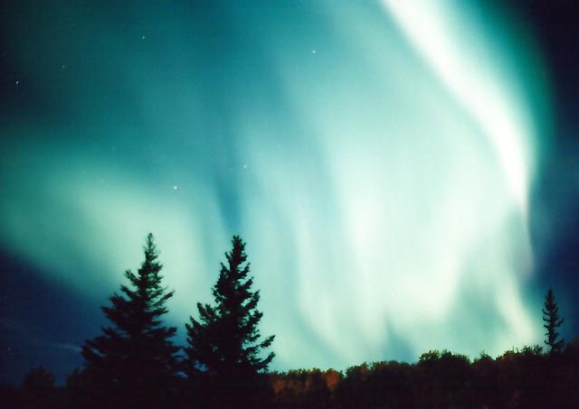 Northern Lights over Fairbanks Alaska  Michael Phelps