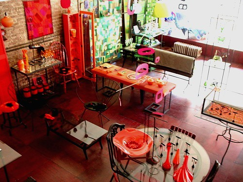 birds-eye shop view of 154 stanton street by denise carbonell