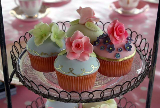 English Tea Party Cupcakes