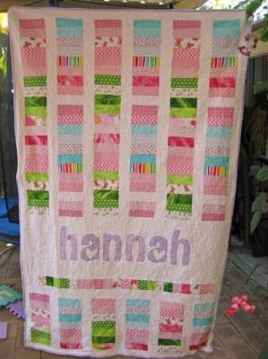 Hannah's Quilt