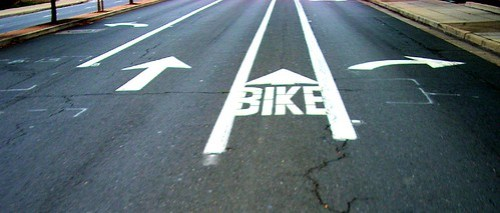 Bike lane placement