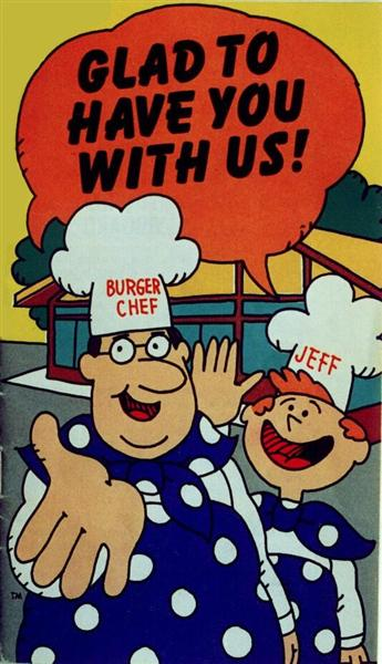 Burger Chef and Jeff - 1972