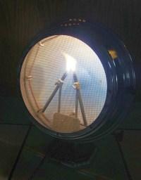 Kinsford Aurora Carbon Arc Tanning Lamp | Striking the Arc ...
