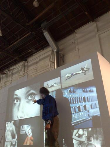 George Legrady explains artwork