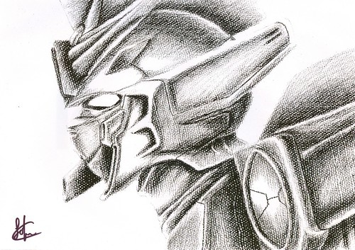 Hand Drawing-Wing Gundam by sakura_fungwan